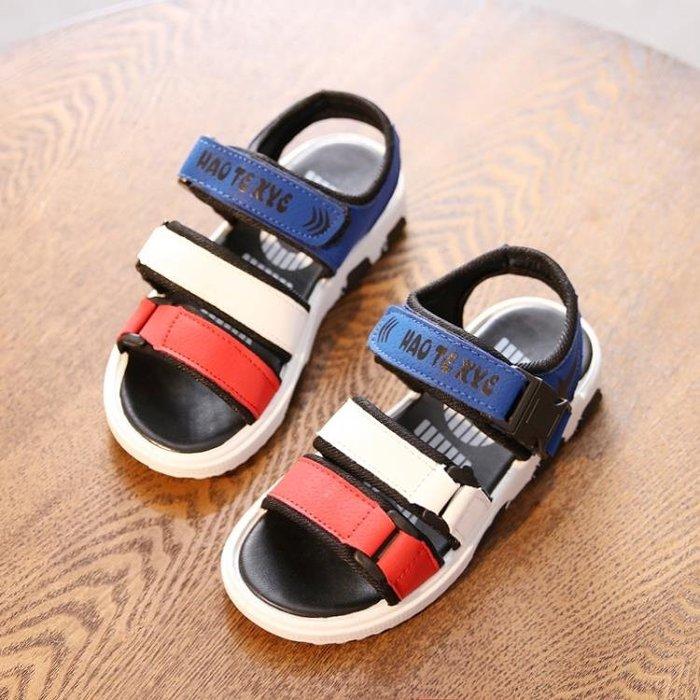 男童鞋涼鞋新夏季韓版中大童小孩學生寶寶鞋女童鞋兒童沙灘鞋 『新時代家居』NS