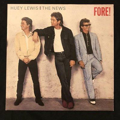 [發燒流行黑膠] Huey Lewis And The News – Fore!