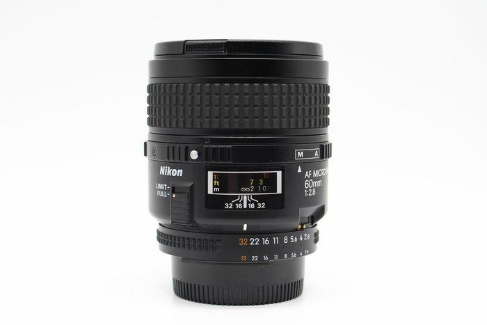 【高雄青蘋果】Nikon AF 60mm f2.8 D Micro 微距鏡 定焦鏡 二手鏡頭 #29390