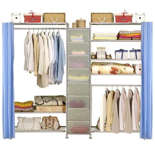 【中華批發網DIY家具】D-62B-11-W3型90+pp+W5型90衣櫥置物櫃-(前罩)不織布