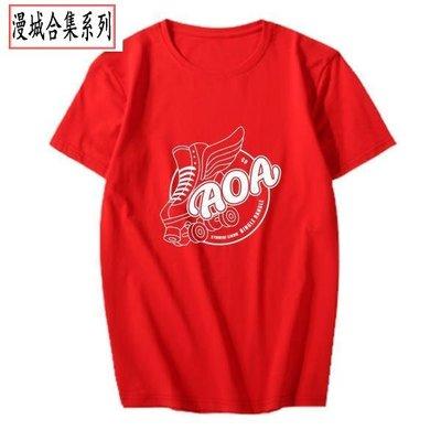 AOA專輯BINGLE BANGLE周邊應援打歌衣服同款短袖T恤衫 ky606