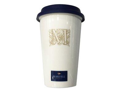馬爹利雙層陶瓷保溫杯!MARTELL COGNAC限定商品!