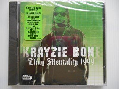 Krayzie Bone - Thug Mentality 1999 進口美版 雙CD
