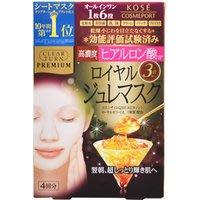 Kose! Clear Turn Premium 頂級高濃度玻尿酸凝膠面膜 含有高濃度美膚成份 滲透力強保濕度極佳