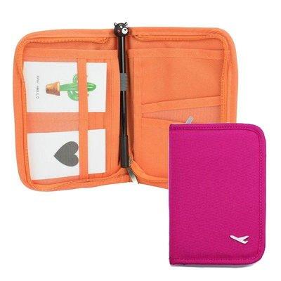 法蒂希 短款護照包 戶外旅行證件套 護照夾 卡包 旅行收納包 護照套【DI390】☆EZ生活館☆