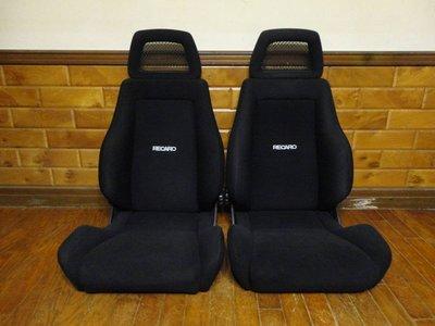 【比比昂.日本改裝 汽車座椅】RECARO LS-M/LS-S ブラック 正規品 2脚セット