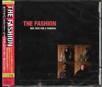 K - The Fashion - Mix Tape For A Funeral 日版 CD +1+Video NEW
