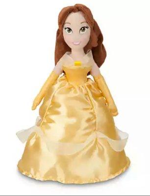 【寶貝妞】美國進口 可愛迪士尼美女與野獸 小貝兒公主隨身毛絨玩偶 女孩兒童禮物 新年禮物30CM高優惠499 高雄市