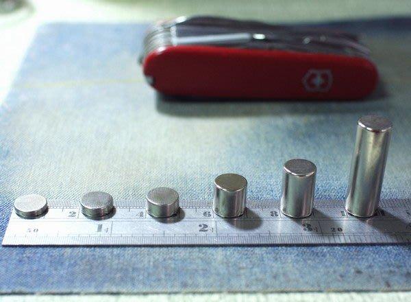 釹鐵硼磁鐵-超強力磁鐵-圓形10mmx5mm-辦公室磁鐵-上班族必備@萬磁王@