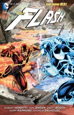 【布魯樂】《代訂中》[美版書籍]DC超級英雄《閃電俠》漫畫Vol.6:Out Of Time(新52系列)