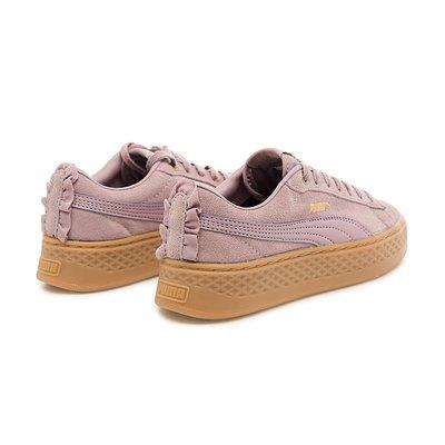 (A.B.E)PUMA SMASH PLATFORM FRILL 36692804 36692805 女潮鞋 兩色