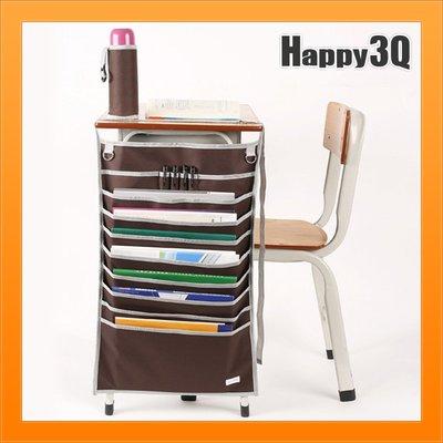 學校桌收納讀書專心變學霸拿取順手書桌擴充文具收納課本整齊-多色【AAA4000】