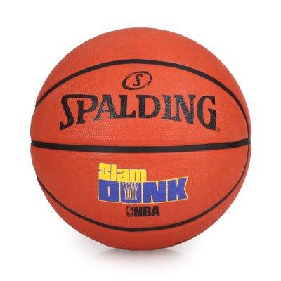SPALDING Game Time系列-Slam Dunk 籃球(附球針 7號球【99302111】≡排汗專家≡