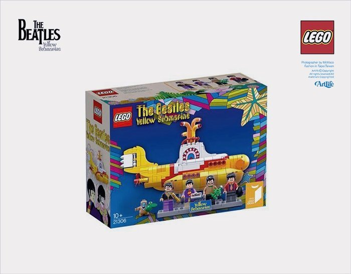 LEGO 21306 Beatles Yellow Submarine 樂高 披頭四 黃色潛水艇