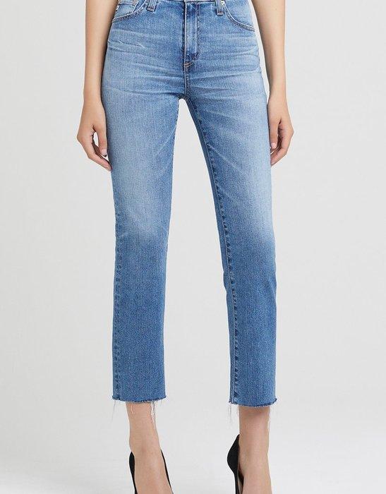 【代購】  AG Isabelle  Straight 高腰 八九分牛仔褲