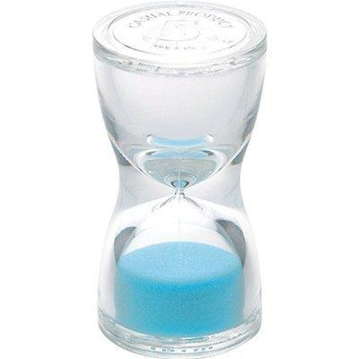 《散步生活雜貨-鄉村散步》日本進口 TORSO - 北歐風格 5分鐘 耐熱樹脂製 沙漏計時器 - 藍色