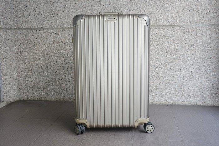 【台中青蘋果】RIMOWA Topas E-Tag 中大型四輪旅行箱 92473035 #44565