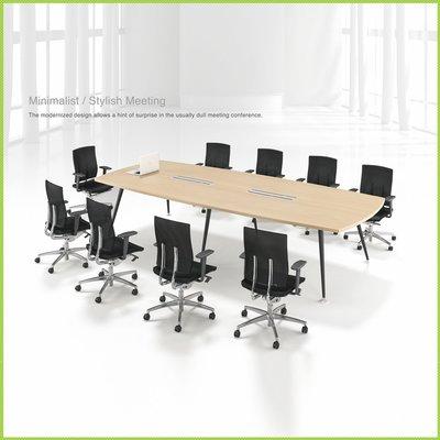 【OA批發工廠】All 系統會議桌 A字腳桌 美耐板會議桌 大型會議桌 簡約現代設計 客製品需先詢價