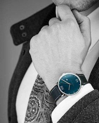 【Vanacci】英國紳士時尚男錶現貨,瑞士機芯搭配類碳纖維錶帶,手錶錶面38mm,日期顯示,保證正品