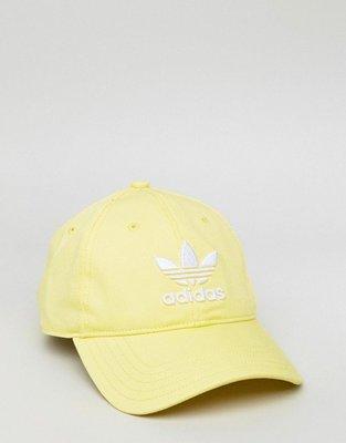 【Footwear Corner 鞋角】Adidas OG Trefoil Yellow Caps 愛迪達三葉草電繡老帽
