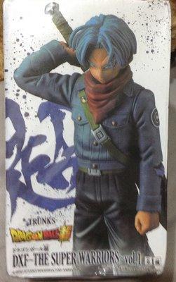 全新七龍珠 dxf 超戰士 特蘭克斯 特南克斯未來戰士 藍髮 七龍珠超 動漫 PVC手辦公仔完成品生日禮物
