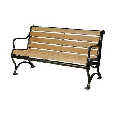 【紅豆戶外休閒傢俱】塑木雙人公園椅/休閒傢俱/鑄鐵長椅/實木桌椅/實木椅/公園桌椅/實木桌椅/庭園咖啡桌椅/陽台桌椅