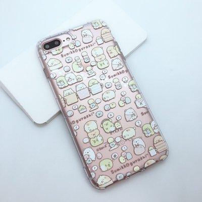 Apple Iphone7/I8 Plus 角落生物 透明空壓殼 手機殼 背蓋 保護殼