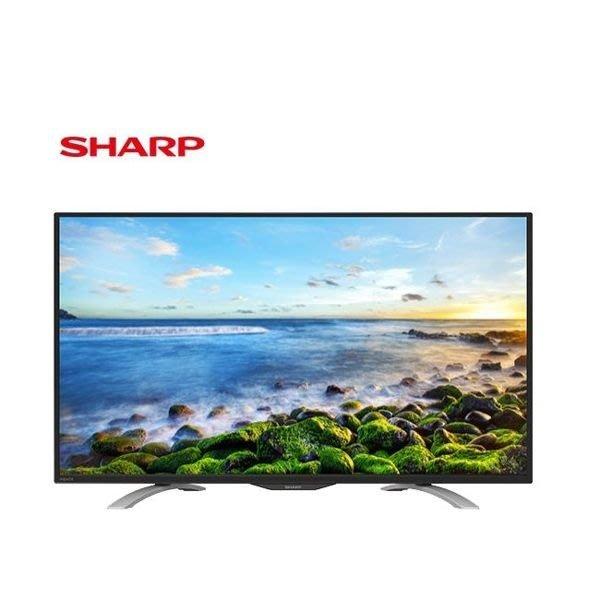《鴻韻音響影音生活館》SHARP LC-50LE380T 50V 液晶電視