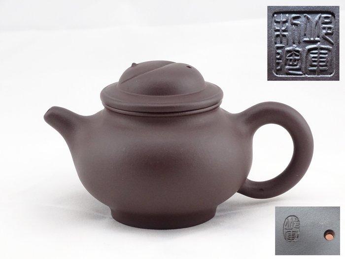 [[ 茶壺 ]] 紫泥 太極壺(No.17) 早期收藏,喜歡就帶走
