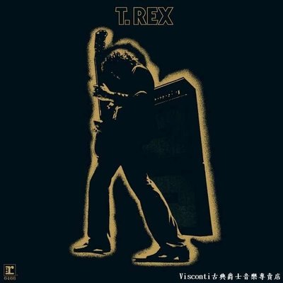 ©【Rhino預購】T.Rex:Electric Warrior提.雷克斯:電子英雄(黑膠唱片)