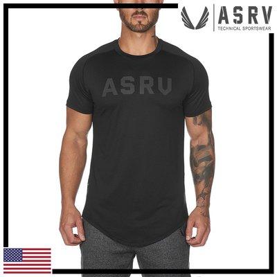 瘋狂金剛▸ 黑 ASRV Train-Lite™ Established Tee 超柔輕量吸濕排汗短袖T恤 運動 健身