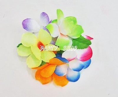 S41【派對樂】 生日舞會尾牙派對用品 夏威夷草裙 粉彩綠葉夏威夷手環