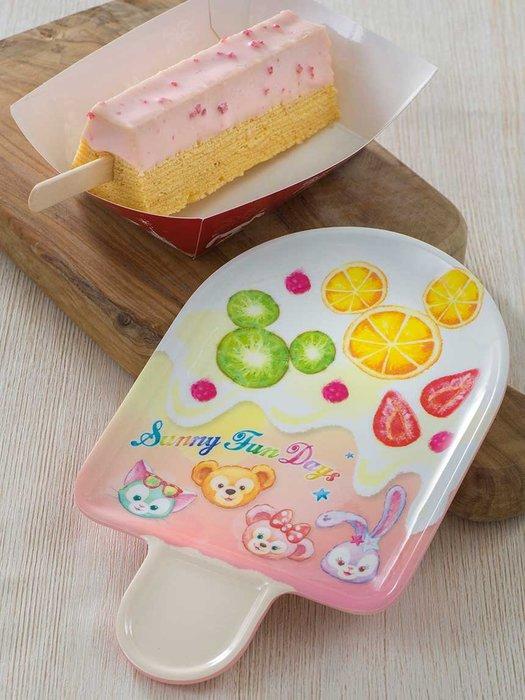 ArielWish預購日本東京迪士尼2019夏季夏天海灘度假達菲熊Duffy雪莉玫史黛拉兔兔化家貓咪冰棒點心盤甜點盤餐盤