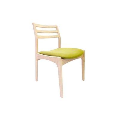 FUNHOUSE 簡約生活風 Virginia圓潤餐椅【原木/胡桃】餐廳 民宿 餐椅 設計傢俱 產品編號:C047