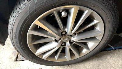 賣TOYOTA/ 豐田 NEW ALTIS 2015 原廠 16吋 中古鋁圈 有4顆 胎皮已經賣出剩鋁圈