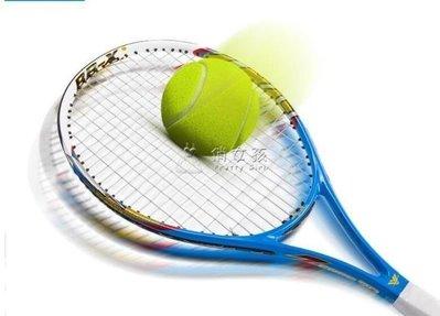 日和生活館 網球拍戰艦初學套裝碳素碳纖維專業練習通用男女單人球拍IGOS686