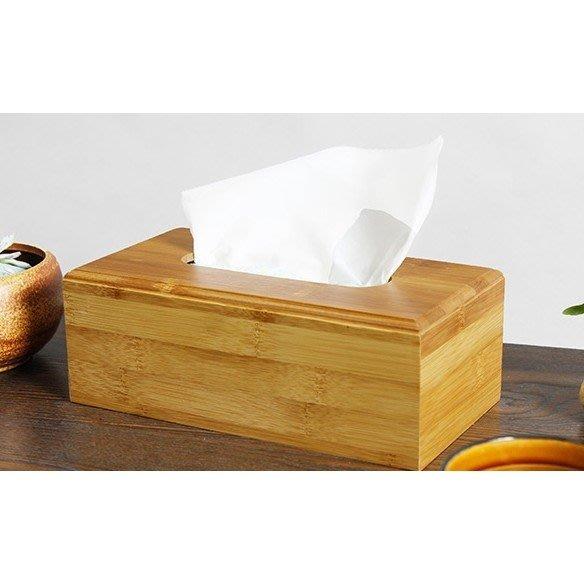 多功能 單格竹製面紙盒【00005378】衛生紙盒 餐巾紙盒 桌上型面紙盒《八八八e網購