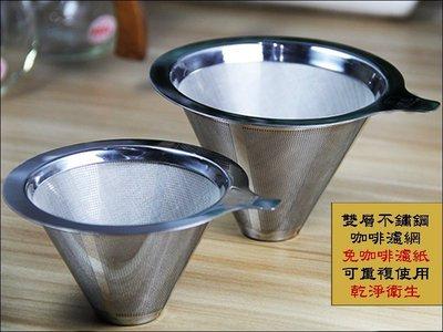 [ 埔21烘焙咖啡 ] G03 雙層不鏽鋼咖啡濾網 1~2人份 手沖咖啡過濾器 雙層精密過濾 304不鏽鋼 永久濾網