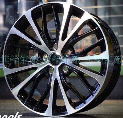 全新鋁圈 QC 18吋 5孔114.3  8J  ET45 黑底車面 NX200 NX300 專用