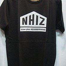 特價【NSS】NEIGHBORHOOD IZZUE NHIZ 五角 PRINT TEE 黑 白 M  L  XL 周柏豪