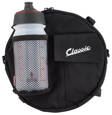 RILI- P-德國帶回品  Vespa Bag SIP Classic 偉士牌帆布側背包 輪胎包 40010262 黑