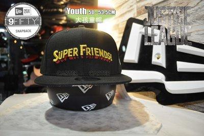 New Era x DC  Super friends JL Youth 9Fifty 正義者聯盟超級好友大孩童後扣帽