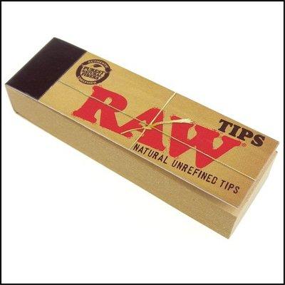 ☆哈洛德小舖☆【RAW】西班牙進口-Natural Unrefined Tips-自捲式紙濾嘴*5本