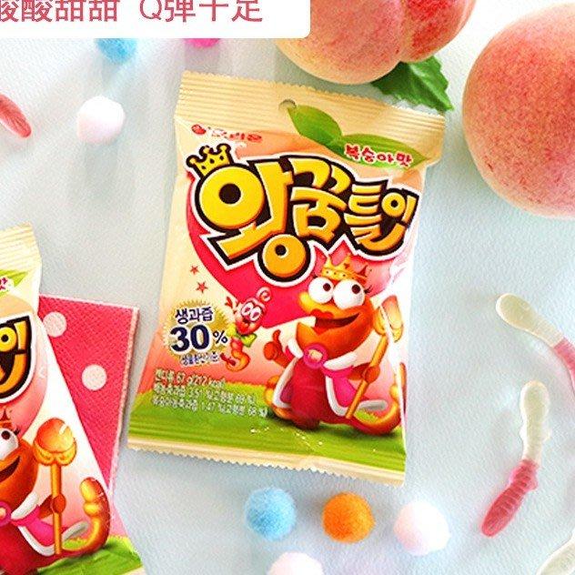 【BOBE便利士】韓國 ORION(好麗友) QQ小蛇軟糖 67g