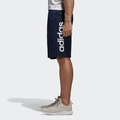 ADIDAS 藍色 深藍 海軍藍 藍白 LOGO 運動 休閒 短褲 棉褲 愛迪達 BS5028 請先詢問庫存
