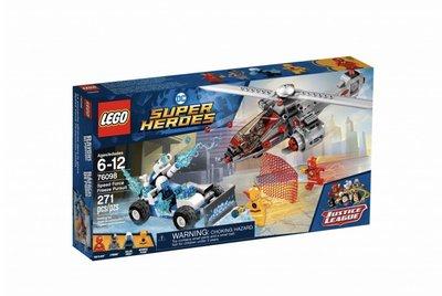 Lego Super Heroes 76098 Speed Force Freeze Pursuit 2018 413 pcs