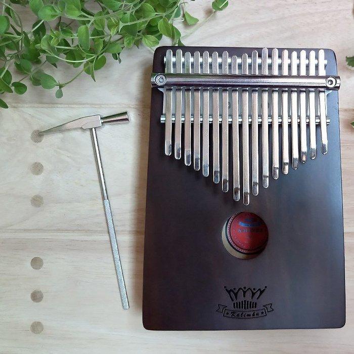 【六絃樂器】全新卡羅威 CL-17X 黑木拇指鋼琴 卡林巴琴 拇指琴 / 附高級肩背琴袋