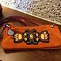 RABEANCO橘色麂皮手提包