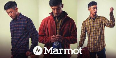 【Marmot總代理】 Flannel 法蘭絨格紋襯衫 男款∕休閒襯衫∕#50770
