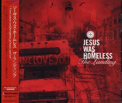 (甲上唱片)  Jesus Was Homeless - The Landing - 日盤+1BONUS